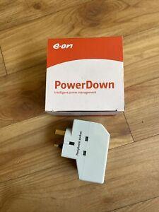 E-ON POWERDOWN DESKTOP COMPUTER SURGE PROTECTOR POWER MANAGEMENT DEVICE