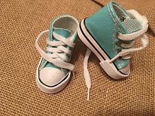 """Fits 16"""" Disney Animators Toddler Princess Doll Shoes Sneakers for Clothes Blue"""