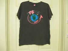 t-shirt gray revolution changing the cheer world fcc lat ladies large 60% cotton