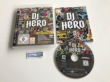 DJ Hero - Sony PlayStation PS3 - PAL EUR - Avec Notice