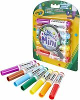 Crayola Pip Squeaks Mini Markers 7 Pack - Washable Colouring Felt Tip Pens