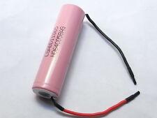 1 batteria/battery/ 18650  LG BD ICR 3300 mAh PINK  3,7V con terminali