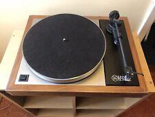 Linn LP12 Sondek Afromosia Transcription Turntable with Basik Plus Tonearm