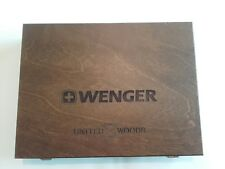 Only Box  Wenger United Woods 2013 Ltd.Limited Edition Taschenmesser altes rare