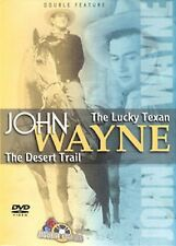 John Wayne - The Lucky Texan / The Desert Trail (DVD, 2000) NEW