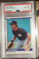 1984 Fleer #131 Don Mattingly PSA 8 NM-Mint RC Rookie New York Yankees