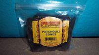 100 Genuine - Patchouli - Wild Berry Brand incense Cones