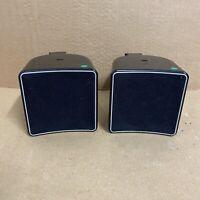 JAMO A102 2 x Speakers Black gloss & Brackets - Front Rear Satellite -
