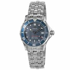 New Omega Seamaster Diver 300 M James Bond Blue Women's Watch 2224.80.00