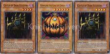 Authentic Panik Deck - Castle of Dark illusions - Pumpking - 40 Cards - Yugioh