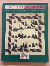 Fall Into Winter Quilt Book From Gerry Kimmel 1995