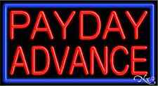 Brand New Payday Advance 37x20 Withborder Real Neon Sign Withcustom Options 11106