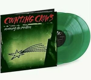 NEW! COUNTING CROWS Recovering the Satellites GREEN VINYL 2LP LIMITED ED OOP