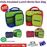 Insulated Lunch Bag Kids Bento Box Cooler School Picnic Thermal Tote Storage New