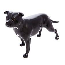 More details for john beswick connoisseur figurine - black staffordshire bull terrier