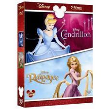 DISNEY Coffret DVD CENDRILLON n° 14 + RAIPONCE n° 101  neuf sous blister