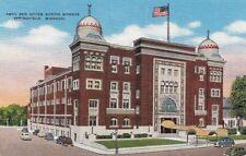 Postcard Abou Ben Adhem Shrine Mosque Springfield Missouri MO