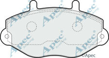FRONT BRAKE PADS FOR FORD TRANSIT TOURNEO GENUINE APEC PAD729