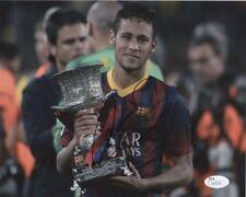 Barcelona FC Neymar Jr Autographed Signed 8x10 Photo JSA COA #2