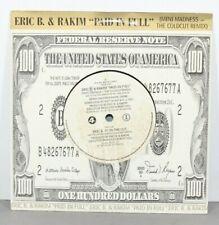 """Eric B & Rakim - Paid In Full -  7"""" Vinyl Single (1987) - *Excellent*"""