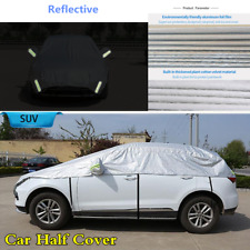 Waterproof SUV Off-road Half Cover Windproof UV Sun Prevent w/Reflective Strip