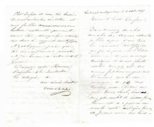 LE SAVANT ERUDIT ADOLPHE DUREAU DE LA MALLE DE LANDRES (MORTAGNE / ORNE) EN 1847