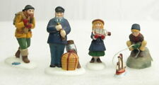 "Dept. 56 - New England Series - ""Seacaptain And His Mates"" #56587 *4-pc Set*"
