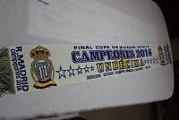 BUFANDA REAL MADRID COMO CAMPEON DE LA UNDECIMA CHAMPIONS LEAGUE NUEVA SCARF