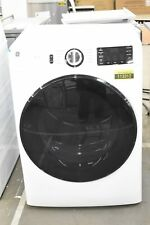 """Ge Gfd55Gssnww 28"""" White Front Load Natural Gas Dryer Nob #113312"""