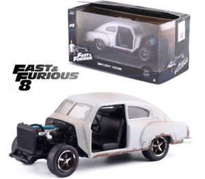 JADA 1:32 DOM'S 1951 CHEVROLET FLEETLINE FAST AND FURIOUS 8 MODEL CAR TOYS GIFTS