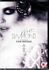 KYLIE MINOGUE - WHITE DIAMOND / HOMECOMING  2 DVD  DOCUMENTARY AND LIVE CONCERT+