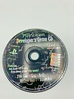 Sony PlayStation 1 PS1 PSOne Disc Only Tested Developers Demo Disc Ships Fast