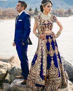 Pakistani Wedding Choli Lehenga Lengha Wear Indian Party Bollywood Designer Rtc