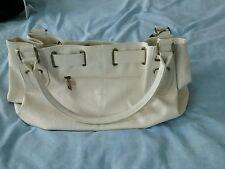 Dorothy Perkins Ladies Large Handbag Cream With Tassel Embellishment.VGC