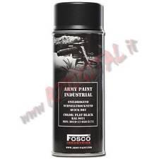 VERNICE ARMI FOSCO SPRAY FLAT BLACK 9021 NERO 400ML BOMBOLETTA SOFTAIR COLORI