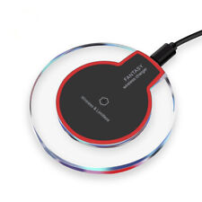 Qi Wireless Charger Charging Pad Dock Mat for iPhone 8Plus X XS XR Samsung S10+