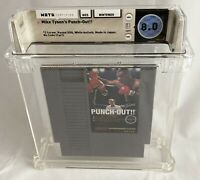 WATA 8.0 NES WHITE BULLETS Mike Tyson Punch-Out (Nintendo Entertainment System)