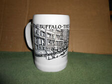RARE VTG 1986 BUFFALO (NY) THE GOLDEN YEARS LOWER MAIN STREET CERAMIC BEER STEIN