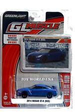 2017 GreenLight Muscle Series 17 2014 Nissan GT-R (R35) blue