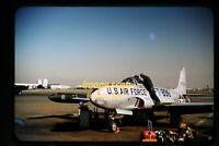 1950's USAF #91896 Lockheed F-80C Shooting Star Aircraft, Original Slide c14a