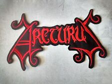 ARCTURUS,SEW ON RED EMBROIDERED LARGE BACK PATCH