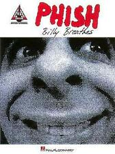 PHISH - BILLY BREATHES GUITAR TAB SHEET MUSIC SONG BOOK