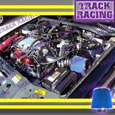 97 98-05 PONTIAC GRAND AM MALIBU ALERO 3.1L 3.4L V6 AIR INTAKE Black Blue TB