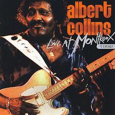 "Albert Collins ""Live at Montreux 1992"" CD Blues Soul ""Frosty"" ""Honey Hush"""
