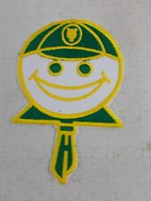 Vintage Wolf Cubs Scouts Happy Face Patch Green Hat Tie Collar Scouting Canada