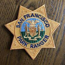 San Francisco California Park Ranger Police Patch