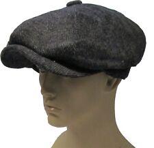 Peaky Blinders Newsboy herringbone Gatsby Cap Hat Flat 8 Panel Baker Baker boy