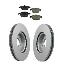 Pair Set of 2 Rear Solid Ate Disc Brake Rotors for Land Range Rover Evoque 12-15