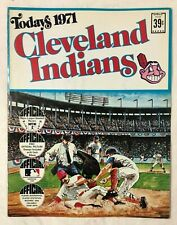 Cleveland Indians Today's 1971 Official Picture Stamps Book by Dell
