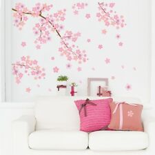 Cherry Flower Blossom Tree Branch Wall Sticker Home DecorArt  Vinyl Decal DL5C